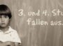 Landesregierung steht bei Unterrichtsausfall blank da