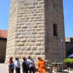 Bergfried ist offiziell wieder begehbar