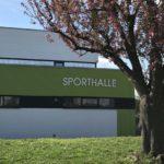 Einweihung der neuen Sporthalle in Steinsfurt