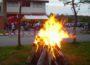 FFW Reihen Maifeuer mit Bewirtung