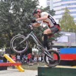 Fahrradtrial-Athlet Noah Sandritter aus Wiesloch trainiert als Stipendiat in Schweden