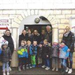 Besuch der Vorschüler im Ostergarten
