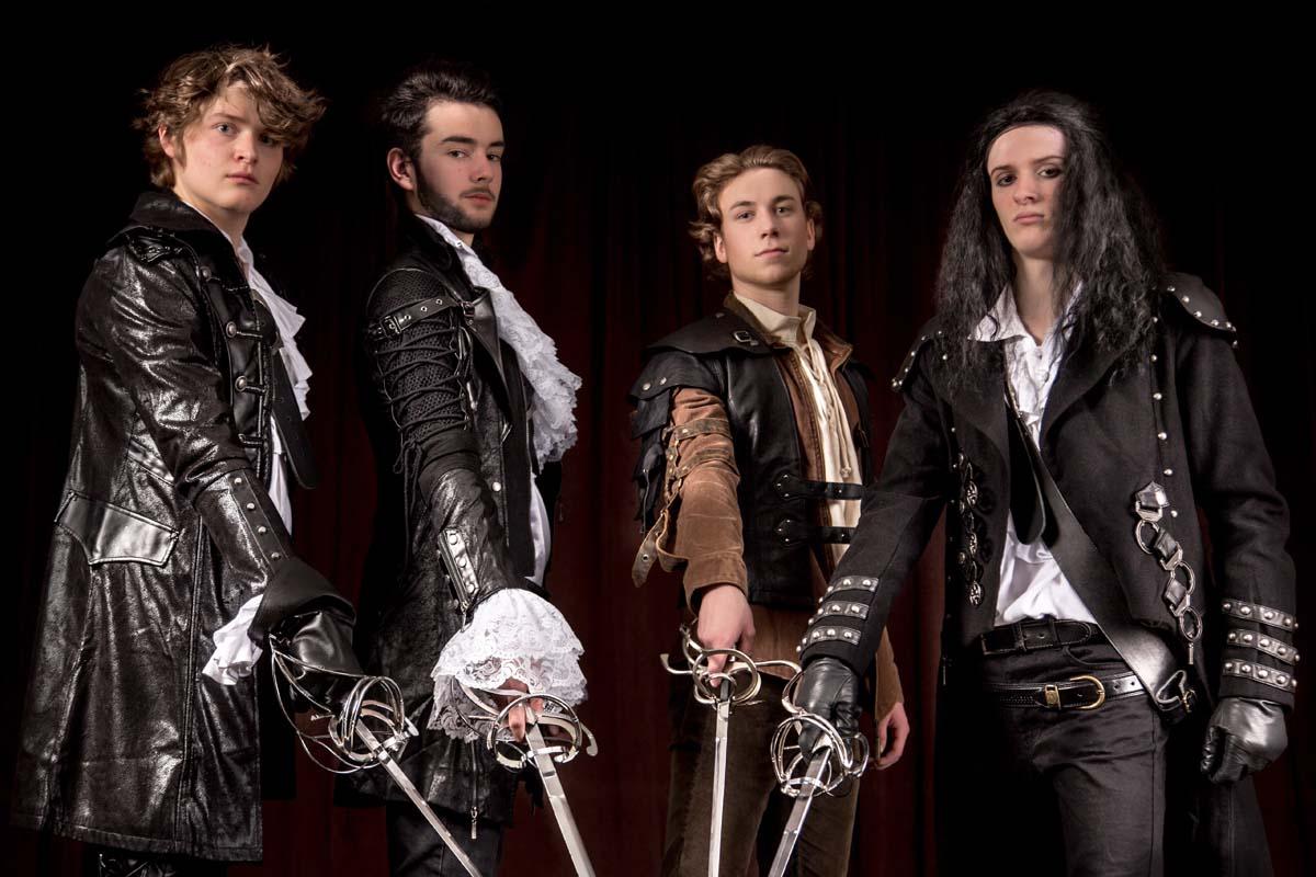 3 Musketiere