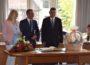 Gemeinderats-Delegation aus Barcs zu Besuch am Fohlenmarkt-Wochenende
