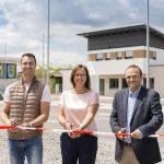 Neue Zufahrt und neues Betriebsgebäude für die AVR Anlage Sinsheim