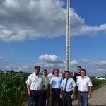 Der Mobilfunkmast in Adersbach steht und sendet