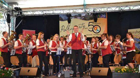 Polkaparty und Sommerfest