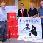 Sparkasse Kraichgau spendet Sinsheimer Tafel 1000 Euro