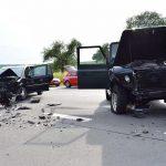 7 Verletzte bei Verkehrsunfall, davon 5 Kinder