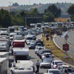 Erneut Verkehrschaos: Zweite Brücke über A6 abgerissen