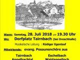 50 Jahre Evang. Posaunenchor Tairnbach