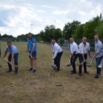 Sportplatz Eschelbach wird zur Baustelle