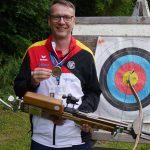 EM Silbermedaille für Oliver Steiger