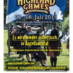 Jetzt am Wochenende: International Highland Games in Angelbachtal