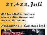 Grußwort zum Waibstadter Stadtfest am 21./22.07.2018