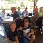 Sommerausflug der FDP Sinsheim-Kraichgau mit dem Schiff auf dem Neckar