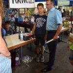 OB Jörg Albrecht besucht Kinderspielstadt Sinsitti