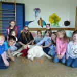 Jimmy zu Besuch im Kindergarten