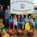 Süßmostaktion beim Obst- und Gartenbauverein