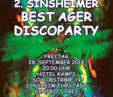 2. Sinsheimer Best Ager Discoparty
