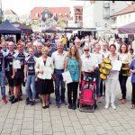 Die Besten der Aktion STADTRADELN sowie den Gewinner der RadSCHNITZELJAGD
