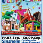 1. Sinsheimer Kinderfestival im Flippy-Land Hüpfburgenpark