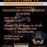 1. Halloween Hunderennen