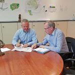 Arbeitsgespräch im Rathaus Meckesheim zum Alten Rathaus