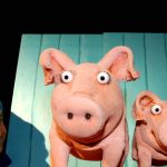 Premiere im Figurentheater-FEX: Piggeldy & Frederick