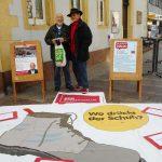 SPD veranstaltete eine stillschweigende Demo