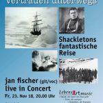 Jan Fischer lädt ein zu: Eiszeit: Vertrauen unterwegs