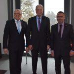 Herzlichen Glückwunsch ‑ Ehrenbürger und Oberbürgermeister a.D. Dr. Horst Sieber zum 80. Geburtstag