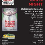 "Ladies Crime Night – ""Frauen morden schöner"""