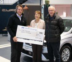 5000 Euro an die Initiative Palliativ-Versorgung Sinsheim e.V.