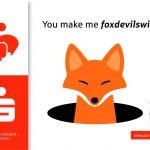 """Bloß nicht """"foxdevilswild"""" werden"""
