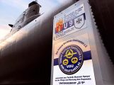 Neue Beschilderung für das U-Boot des Technik Museum Speyer
