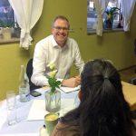 Dr. Albrecht Schütte MdL im direkten Austausch mit den Bürgern