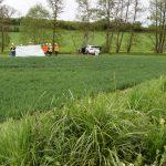 Schwerer Unfall auf L550 bei Sinsheim – Hubschrauber im Einsatz