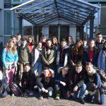 Austauschschüler aus Longué zu Gast im Rathaus
