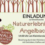 Eröffnung des Naturerlebnispfad Angelbachtal