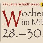 725 Jahre Schatthausen – Ein Wochenende im Mittelalter
