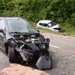 Schwerer Unfall auf B39 – Straße bei Dühren nach Frontalzusammenstoß gesperrt