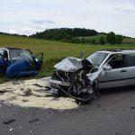 L530/Helmstadt-Bargen: Eine Schwerverletzte nach Frontalzusammenstoß zweier Pkw
