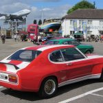 50 Jahre Ford Capri Sonderausstellung & 25 Jahre European Capri Post Meeting