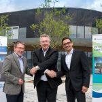 Sinsheimer Klima Arena ist an das Glasfasernetz  der Zukunft angeschlossen
