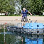 Hygienisch einwandfreie Wasserqualität aller neun Badeseen im Rhein-Neckar-Kreis