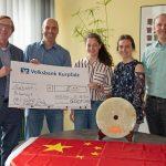 GDCF MRN unterstützt Sinsheimer Schülerreise nach China
