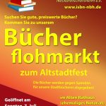 ISbN-Bücherflohmarkt auf dem Neckarbischofsheimer Altstadtfest