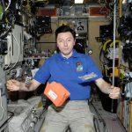 Vortrag von Kosmonaut Sergej Rewin