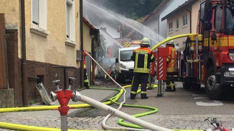 Angelbachtal: Lötarbeiten lösen Brand aus